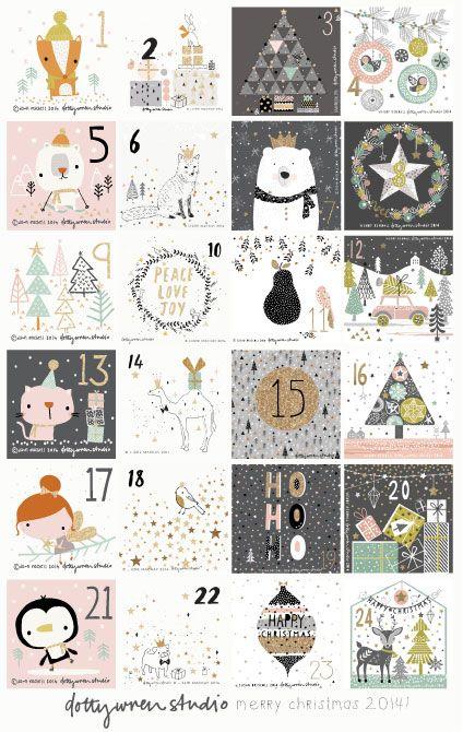 kalendarz adwent