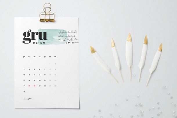 kalendarz pdf 2018