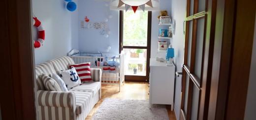 pokoj marynistyczny dla dziecka