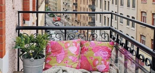 skrzynki na balkonie