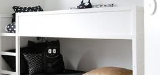 pokoj czarno-bialy