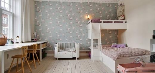 dzieciecy pokoj retro
