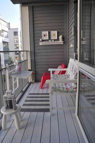 balkon bez roślin