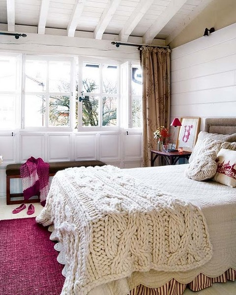 sypialnia - dodatki na drutach