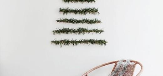 minimalistyczna choinka