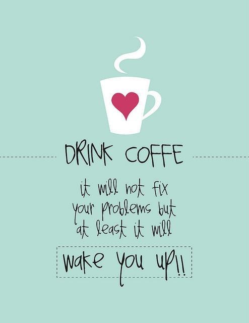 poranek z kawa