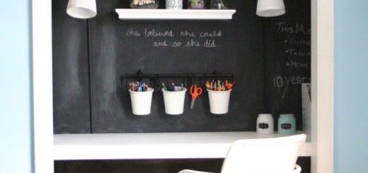 biurko z farba tablicowa