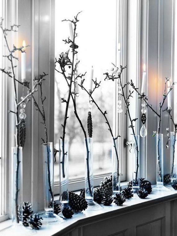 swiateczna dekoracja okna