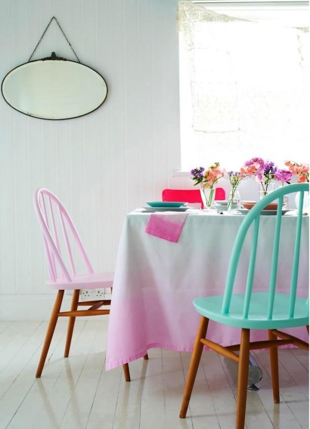 pomalowane krzesla