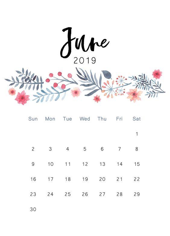 Kalendarz Do Wydrukowania 2019 ładne Rzeczy