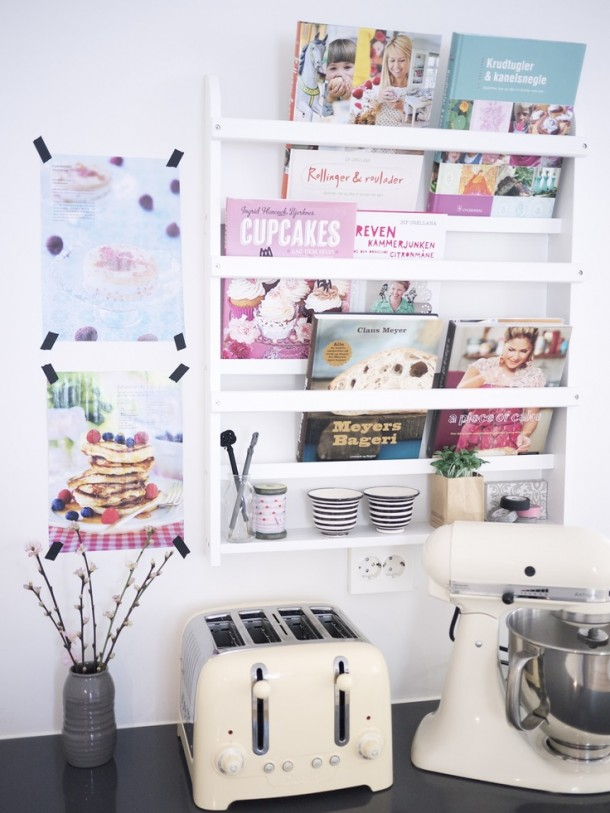 półka na ksiazki kucharskie