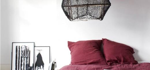 sypialnia marsala