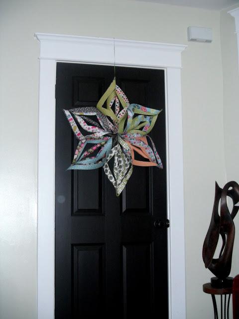 jak zrobic gwiazde z papieru