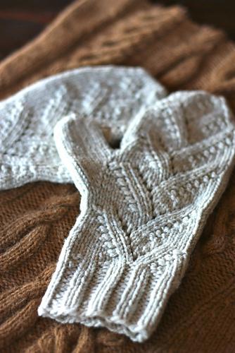 rękawiczki na drutach - tutorial