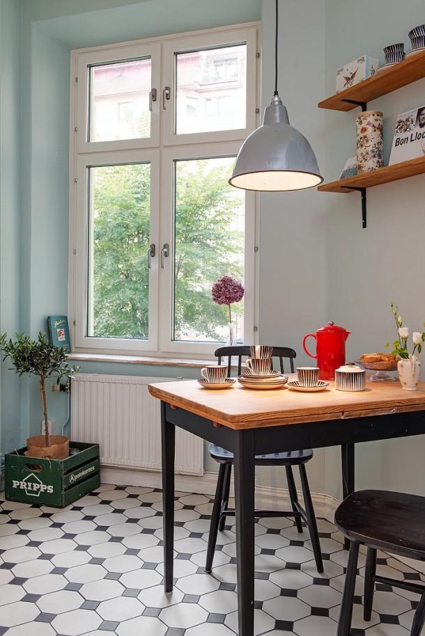 jadalnia - kącik w kuchni