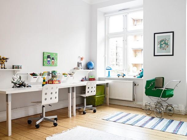 pokoj dzieciecy - biurko