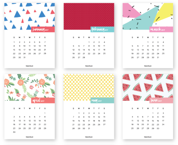 kalendarz do wydruku