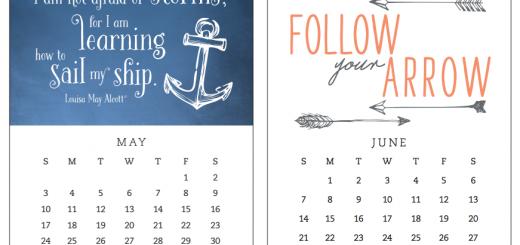 kalendarz motywacyjny 2015