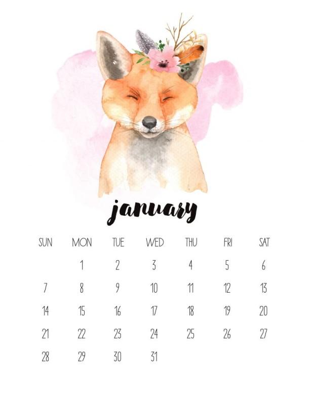 2018 kalendarz pdf
