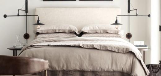 męska sypialnia