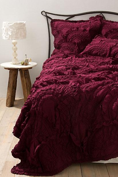 burgund sypialnia