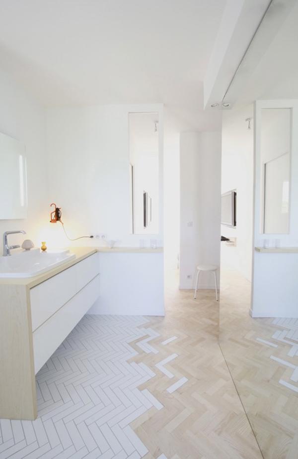 Gradient For Bathroom Floor : Wn trze dnia azienka z zaczarowan pod og adne rzeczy