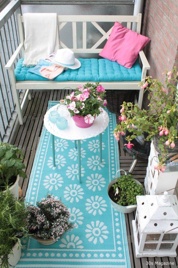 mały balkon inspiracje