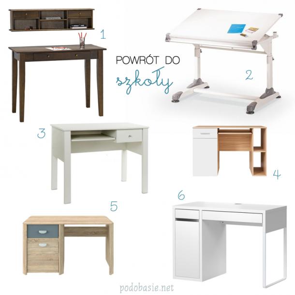 biurka do pokoju dzieciecego