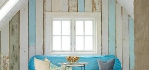 salon w stylu coastal