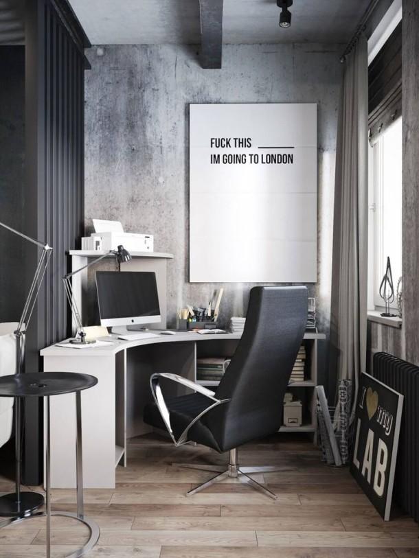 męskie biuro