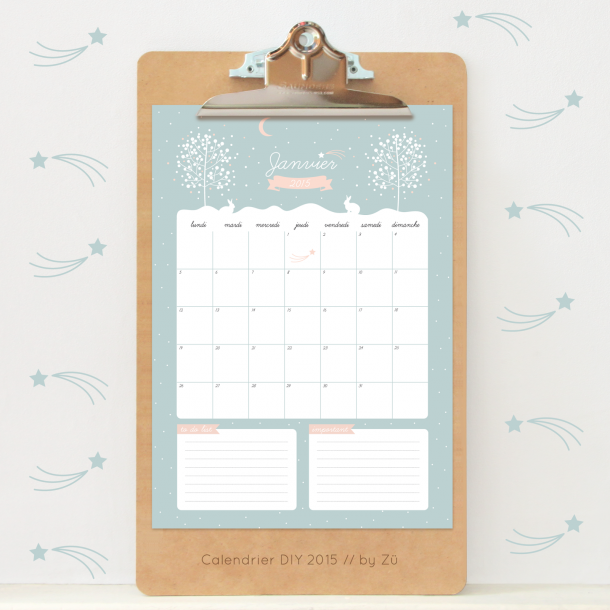 kalendarz styczeń 2015