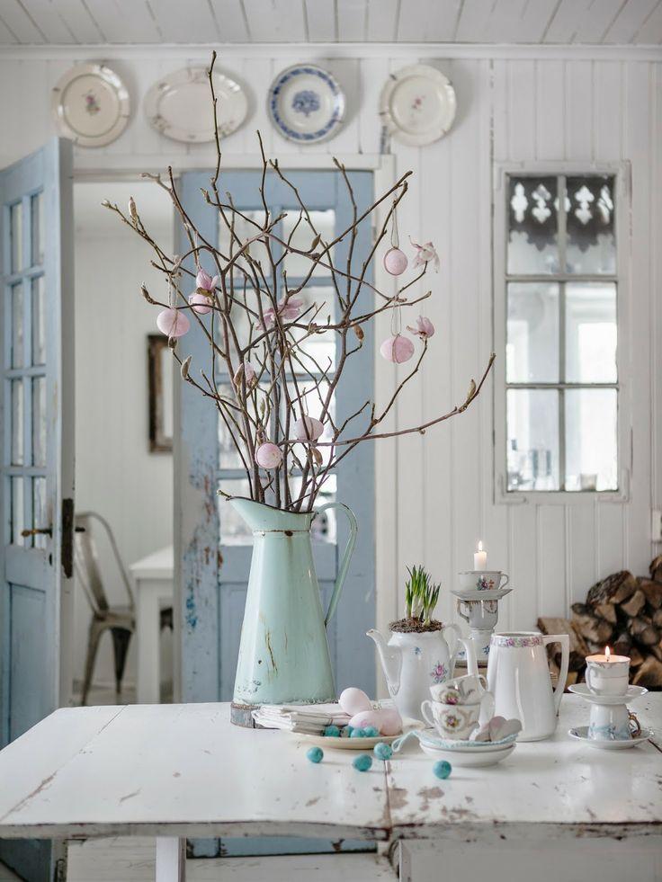 wiosenny stol