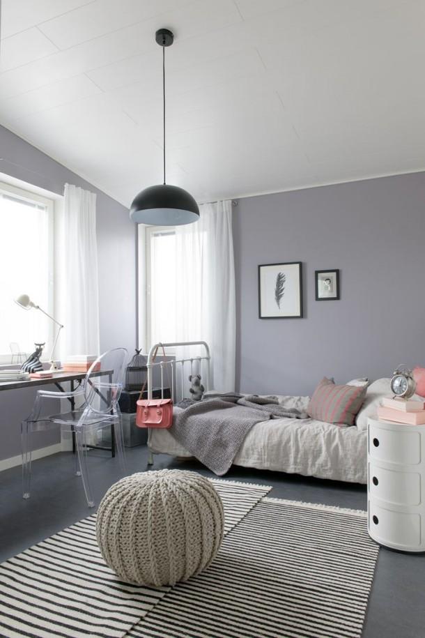 Zrobieni na szaro pok j nastolatki adne rzeczy for Decolam designs for living room