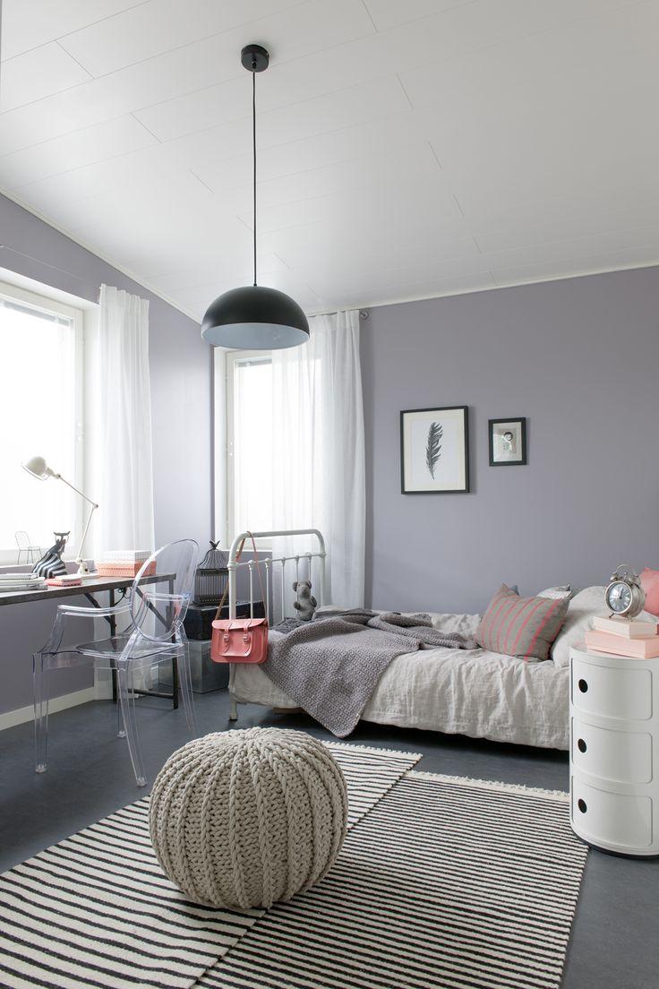 Chambre a coucher grise et blanc: chambre a coucher gris et rouge ...