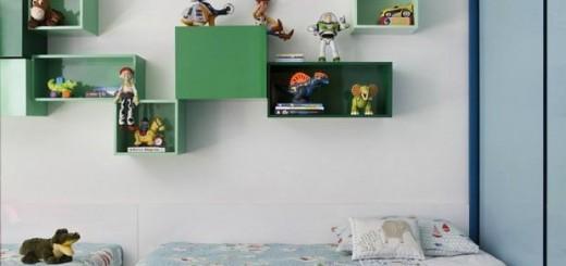 zielony pokoj dla rodzenstwa