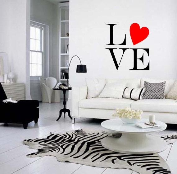 salon czarno-biały