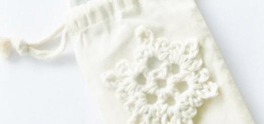 sniezynki na szydełku - tutorial