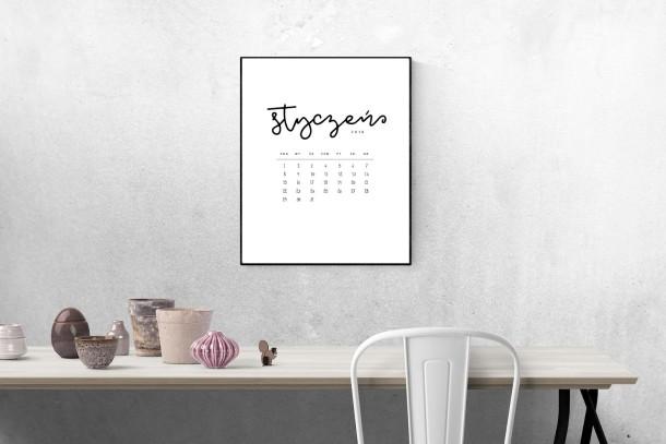 kalendarz do wydrukowania 2018