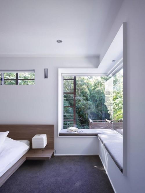 sypialnia z widokiem