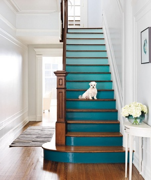 schody w stylu ombre